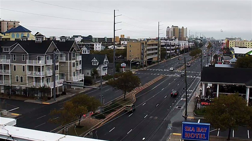 Ocean City Traffic Cam | Live Webcams Ocean City MD