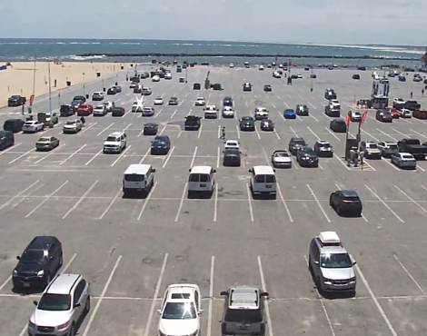 Ocean City Inlet Parking Lot Cam