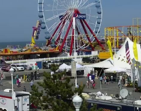 Ocean City Pier Amusements Cam
