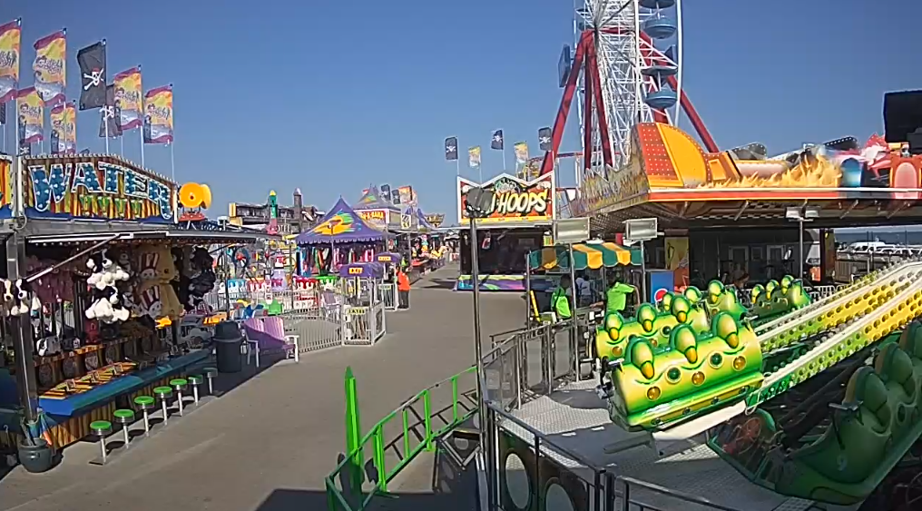 Hotels In Ocean City Md >> Ocean City MD Amusements Pier Cam | Ocean City Boardwalk Live Webcams